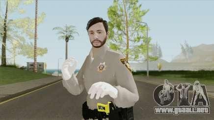 GTA Online Skin V4 (Law Enforcement) para GTA San Andreas