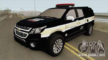 Chevrolet S-10 Policia Civil para GTA San Andreas