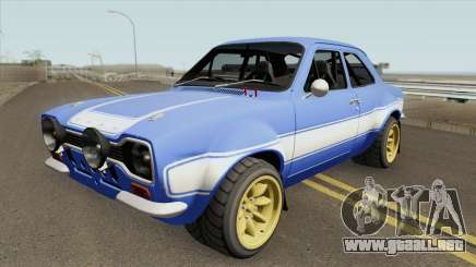 Ford Escort MK1 RS1600 FF6 1970 para GTA San Andreas