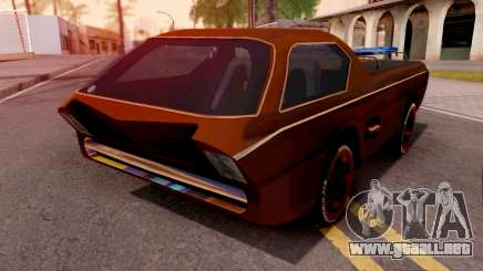 Dodge Deora Hot Wheels Turbo Racing para GTA San Andreas