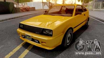 GTA V Dinka Blista Compact para GTA San Andreas