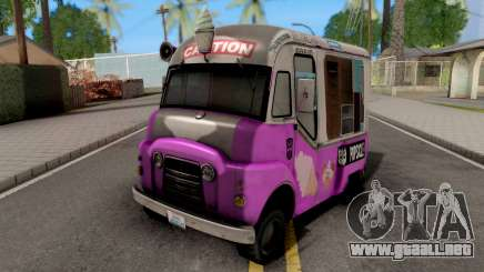 Transformers ROTF Skids And Mudflap Ice Cream para GTA San Andreas