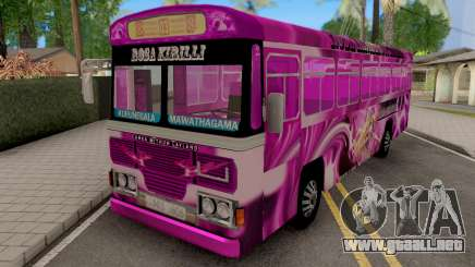 Rosa Kirilli SL Bus para GTA San Andreas