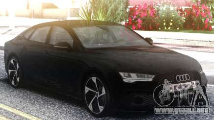 Audi RS7 Restyling Black para GTA San Andreas