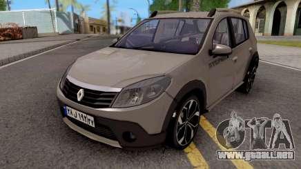 Renault Sandero StepWay v2 para GTA San Andreas