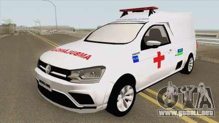 Volkswagen Saveiro G7 Robust RESGATE MG para GTA San Andreas