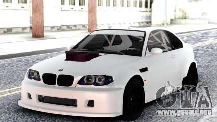 BMW M3 E92 DRIFT White para GTA San Andreas
