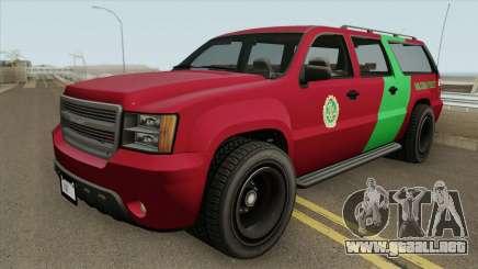 Declasse Granger 3500LX GTA V (Area 69 Brigade) para GTA San Andreas