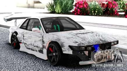Nissan Silvia S13 Racing para GTA San Andreas