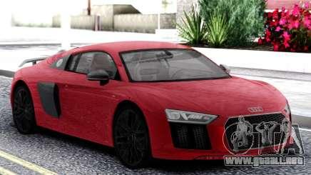 Audi R8 Red para GTA San Andreas