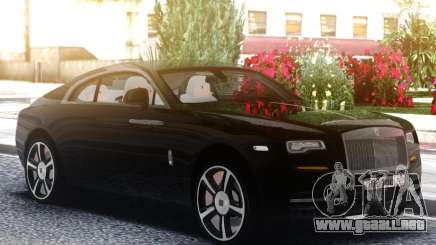 Rolls Royce Wraith 2018 para GTA San Andreas