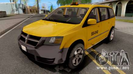 Dodge Grand Caravan Taxi para GTA San Andreas