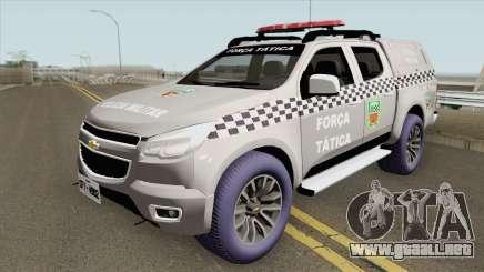 Chevrolet S-10 2015 (Forca Tatica Nova Potagem) para GTA San Andreas