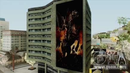 New Poster On Building para GTA San Andreas