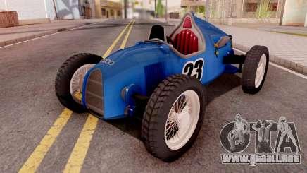 Audi Type C Blue para GTA San Andreas