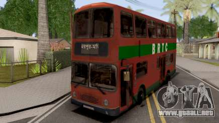 BRTC Double Decker Bus para GTA San Andreas