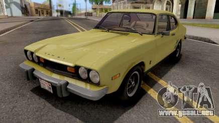 Mercury Capri 2600 1973 IVF para GTA San Andreas