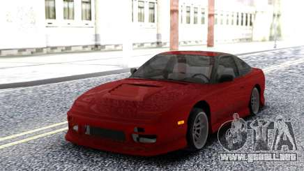 Nissan 240SX Red Coupe para GTA San Andreas