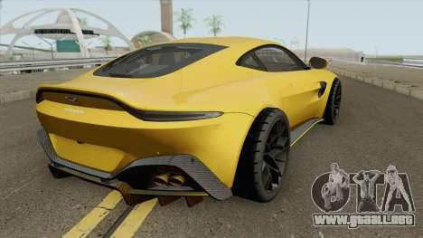 Aston Martin Vantage 59 2019 para GTA San Andreas