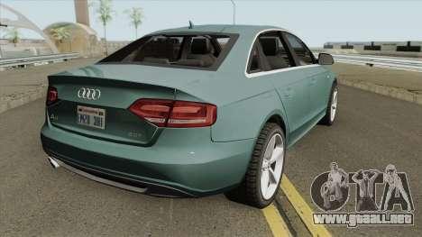 Audi A4 2.0 TFSI S-Line 2010 para GTA San Andreas