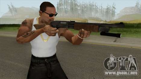 Pump Shotgun HQ (L4D2) para GTA San Andreas