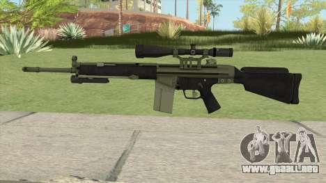 Military Sniper HQ (L4D2) para GTA San Andreas