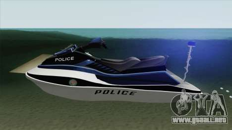 Seashark Police GTA V para GTA San Andreas