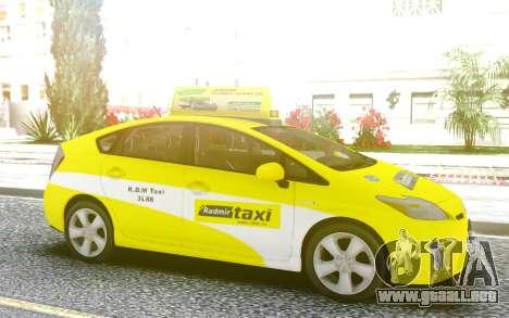 Toyota Prius Taxi para GTA San Andreas