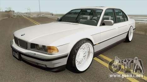 BMW 750i E38 (2Pac Style) 1996 para GTA San Andreas