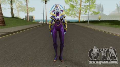 Cosmic Queen Ashe para GTA San Andreas
