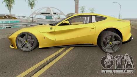 Ferrari F12 Berlinetta 2013 HQ para GTA San Andreas