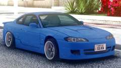 Nissan Silvia S15 Original Blue para GTA San Andreas
