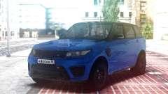 Range Rover Sport SVR Blue para GTA San Andreas