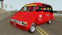 Toyota Hilux Colectivo Colombiano para GTA San Andreas
