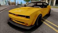 GTA V Bravado Gauntlet Hellfire Stock IVF para GTA San Andreas