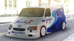 Ford Transit Supervan 3 Custom cars para GTA San Andreas
