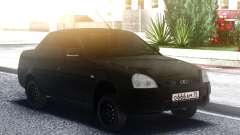 Lada Priora Negro para GTA San Andreas