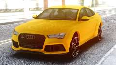 Audi RS7 Yellow para GTA San Andreas