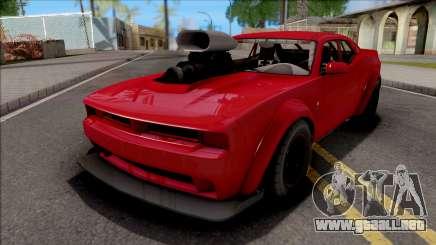 GTA V Bravado Gauntlet Hellfire Custom para GTA San Andreas