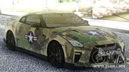 Nissan GT-R 35 Quick Warrior para GTA San Andreas