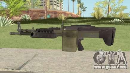 Battlefield 4 M60 para GTA San Andreas