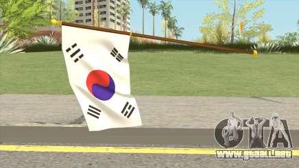 South Korea Flag para GTA San Andreas