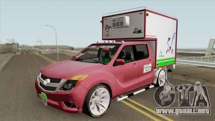 Mazda BT 50 Con Furgon para GTA San Andreas
