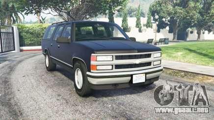 Chevrolet Suburban (GMT400) para GTA 5