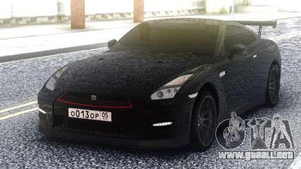 Nissan GT-R 35 Black para GTA San Andreas