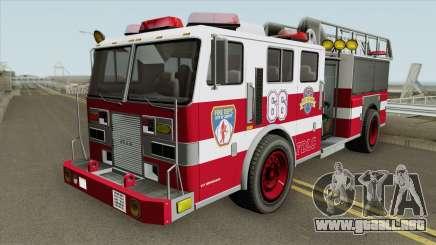 Firetruck Ladder GTA IV para GTA San Andreas