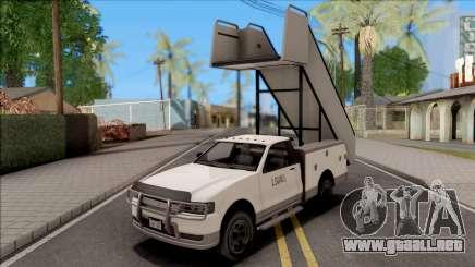 GTA V Contender Airport Stairs para GTA San Andreas