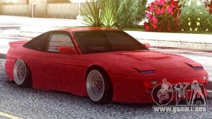 Nissan 180SX Red para GTA San Andreas