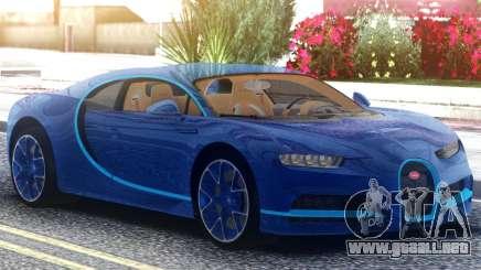 Bugatti Chiron 2020 para GTA San Andreas