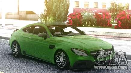 Mercedes-Benz W205 Coupe Brabus 650 para GTA San Andreas